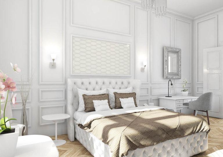 KORUNOVAČNÍ PRAHA - vizualizace rustikálního bytu
