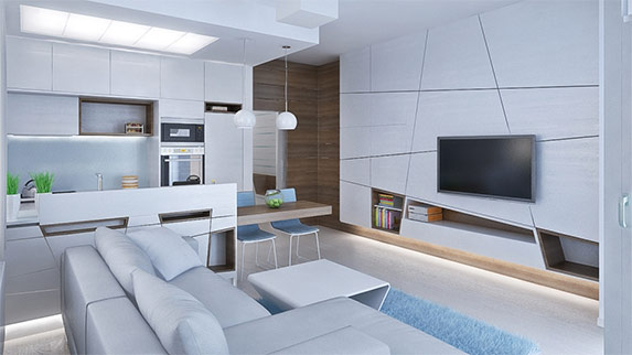 3D návrh bytu