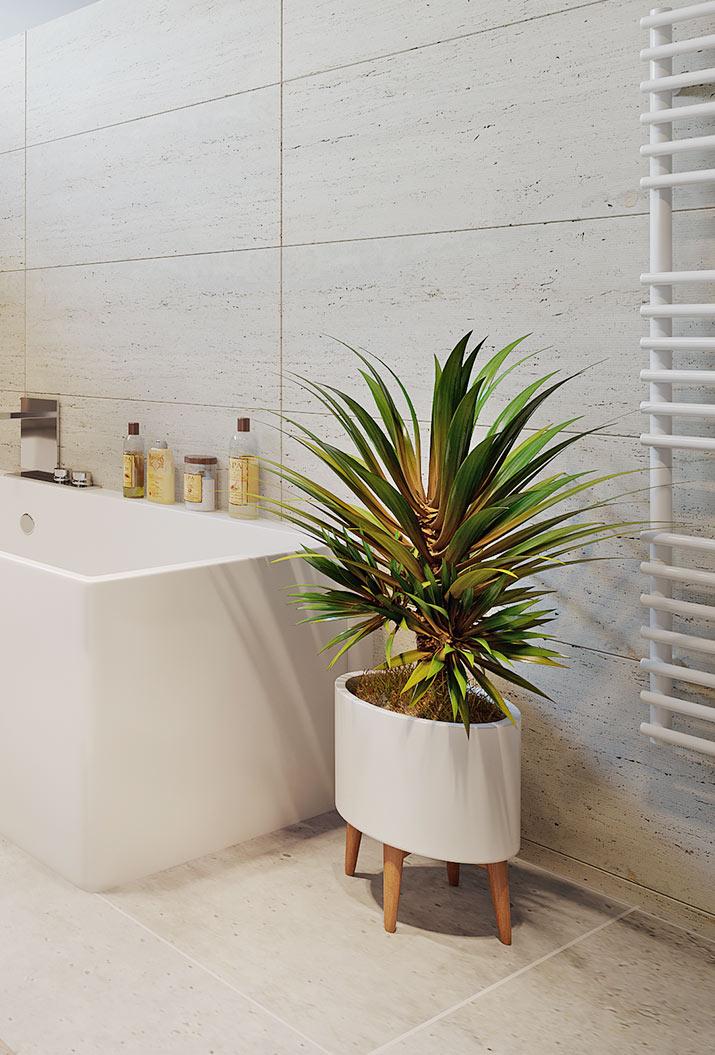 Vizualizace detailu v koupelně