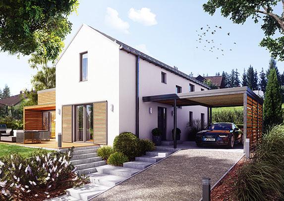 Realistická vizualizace rodinných domů