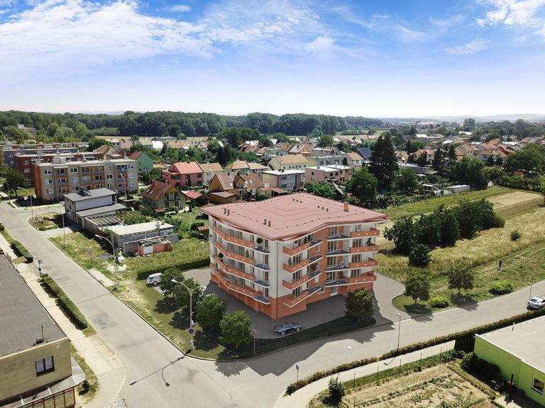 Fotografie z dronu - Kroměříž