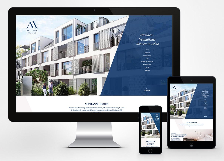 Altmann Homes - web